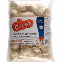 Chicken Pelmeni 2LB Ot Oleshki Family Pack