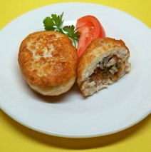 Chicken Mushroom Patty
